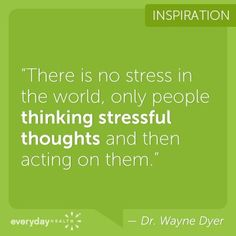The Link Between Your Thoughts & Stress